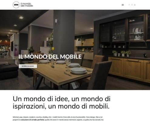 realizzazione sito web il mondo del mobile