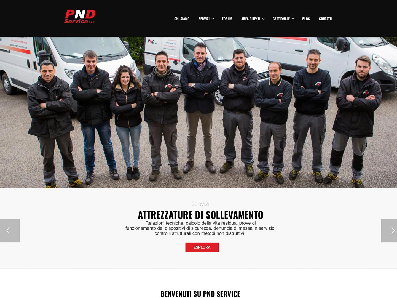 realizzazione sito web pnd latina