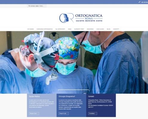 realizzazione sito web dr. marianetti