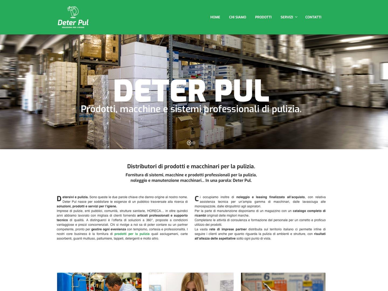 realizzazione sito web deter pul