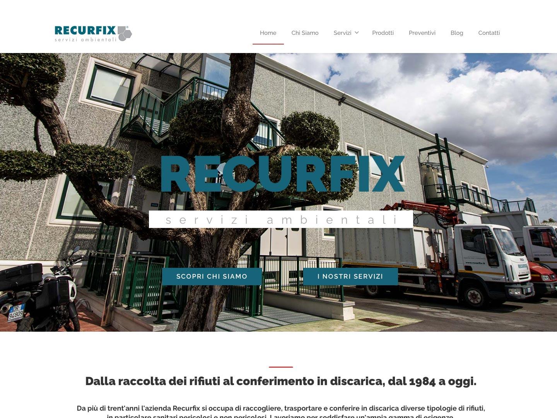 realizzazione sito web recurfix