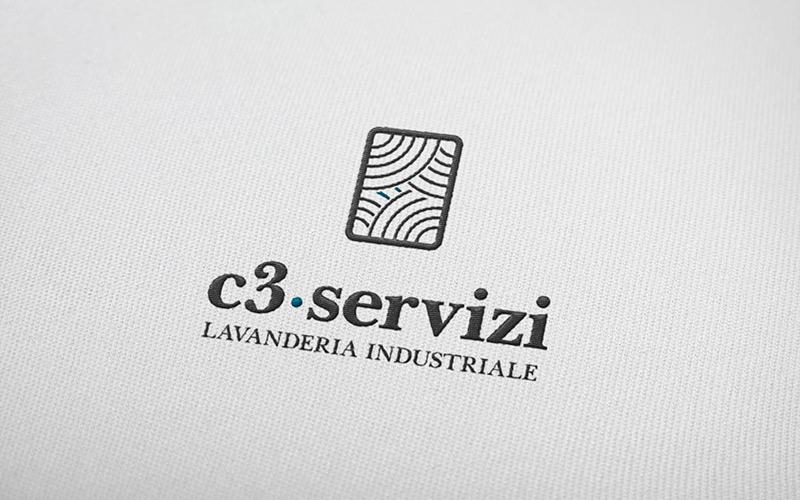 logo c3 servizi ricamato