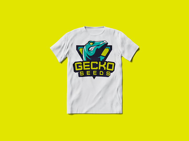 abbigliamento personalizzato gecko seeds