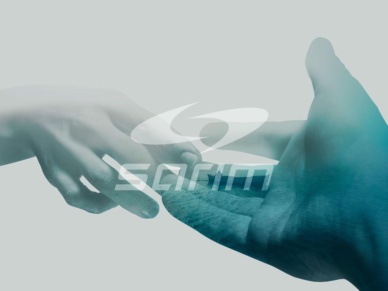 studio e realizzazione logo e immagine coordinata per sarim