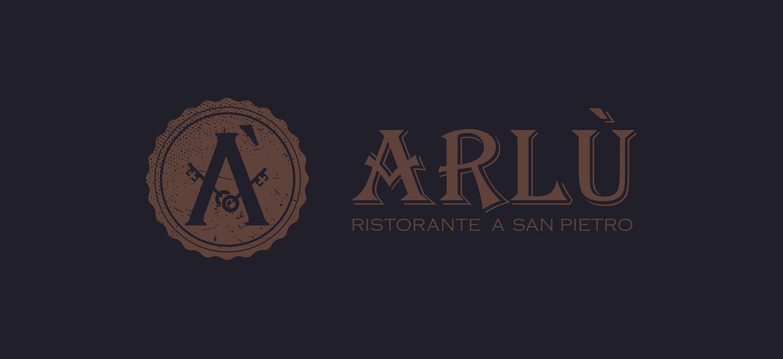 logo per ristorante arlù