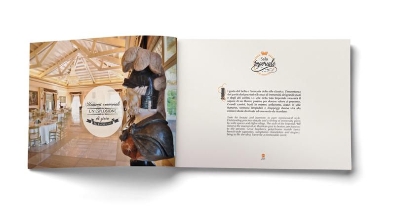 grafica per brochure la tacita