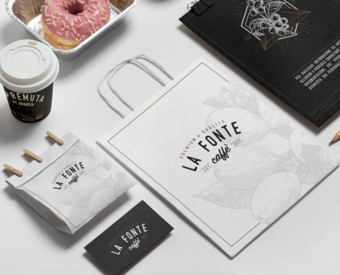 brand identity la fonte caffè
