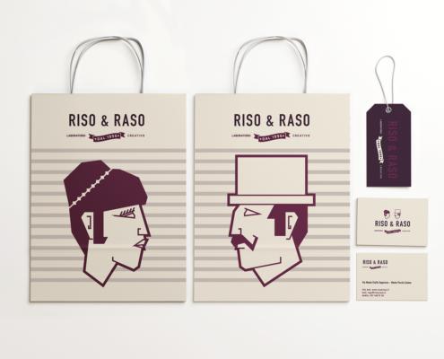 coordinati aziendali per riso & raso