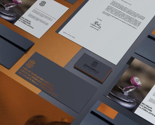 creatività e sviluppo brand identity per gioielli simonelli