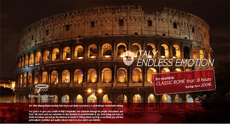campagna pubblicitaria rome top driver