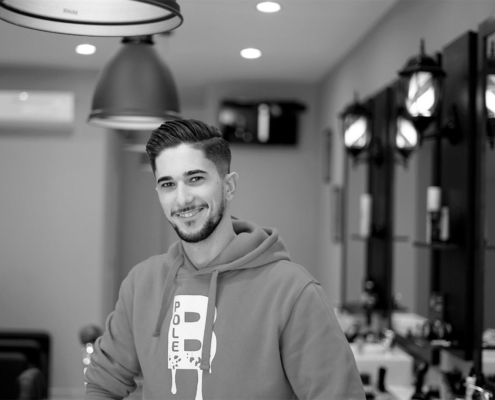 video spot per barber pole