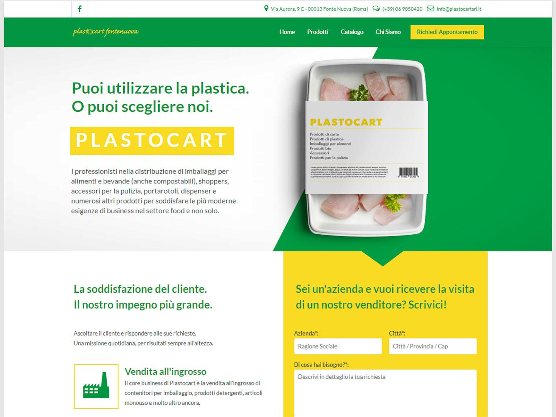 realizzazione sito web plastocart