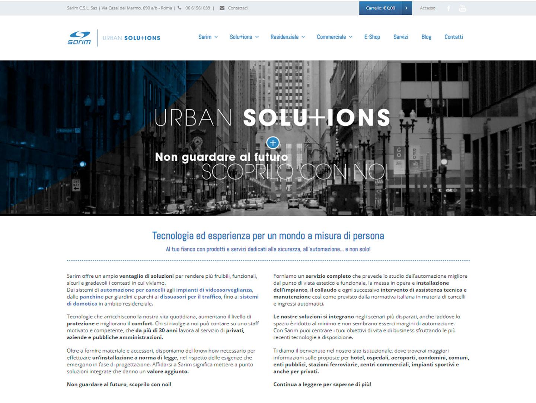 realizzazione sito web sarim