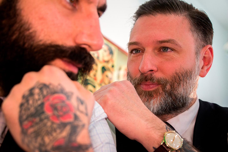 servizio fotografico tendenza barber shop