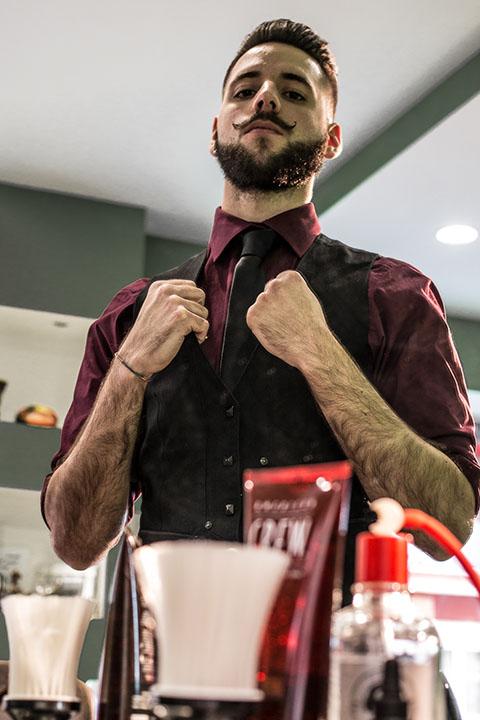 servizio fotografico barber shop