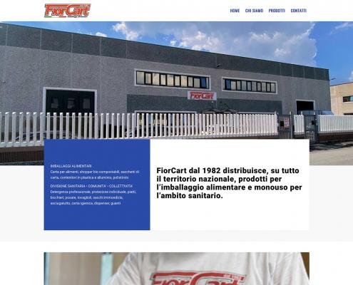 realizzazione sito web fiorcart